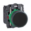 Кнопка 22 мм черная с возвратом XB5AA25