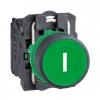Кнопка 22 мм зеленая с возвратом XB5AA3311